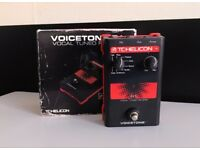TC Helicon Voicetone R1 Vocal Reverb Effects Pedal