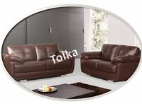 *SPECIAL OFFER* - TOLKA 3+2 SEATER –FREE DELIVERY - AVAILABLE IN BLACK/BROWN - WAS £999