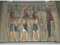 Egyptian Papyrus Painting