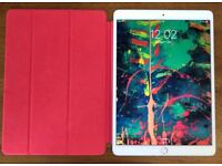 iPad Pro 10.5-inch (2nd gen) 64GB in Silver with Pencil and Smart Cover