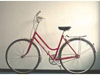 Gorgeous Lightweight Dutch Style 3 speed Ladies bike, Serviced
