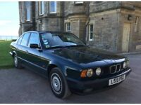 BMW 525 TD E34 Saloon, Left Hand Drive