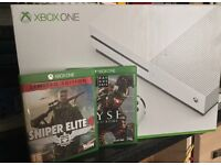 Xbox one s & Sniper Elite 4 & RYSE, immaculate £185 ono The best blu ray player on the market