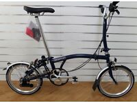 Brompton M6L Folding Bike in Brand New Condition -Black