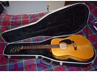 Simon & Patrick S & P Solid Spruce Acoustic Guitar (With Provenance)