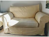 Loveseat/ 2 Seater Sofa by Collins and Hayes