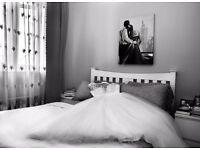 Designer wedding dress size 12-14