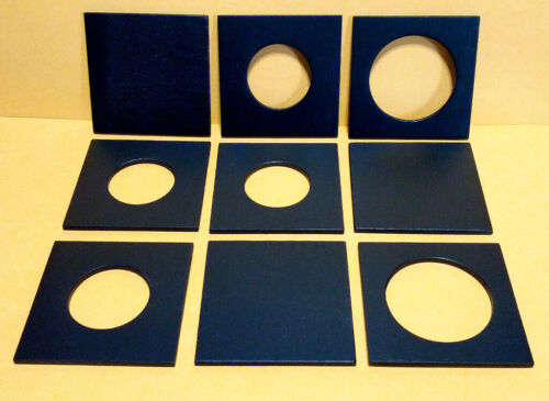 """1 lens board 2-3/8"""" x 2-3/8"""" to GRAFLEX 1A, made of plywood 3mm thick, free hole"""