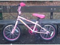 "Girls Bike Apollo Roxie 16"" wheels"