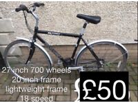 Winter Commuter or student mountain city or hybrid bikes £35 - £60 adult gents ladies cycle bike mtb