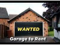 Looking for Garage to Rent or Shed, Lockup