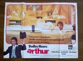 arthur ' original film poster