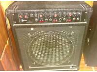Amp with speaker