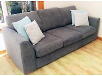 **Brand New ** DFS Sofa, Swivel Chair and Moon Stool