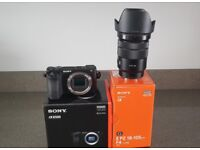 Sony a6500 Camera with Sony 18-105mm f4 lens