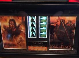 LOTR Lord of the Rings Filmcells