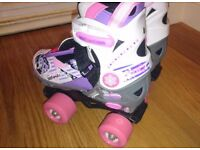 Girls child's Blindside Quad skates sizes 1-3