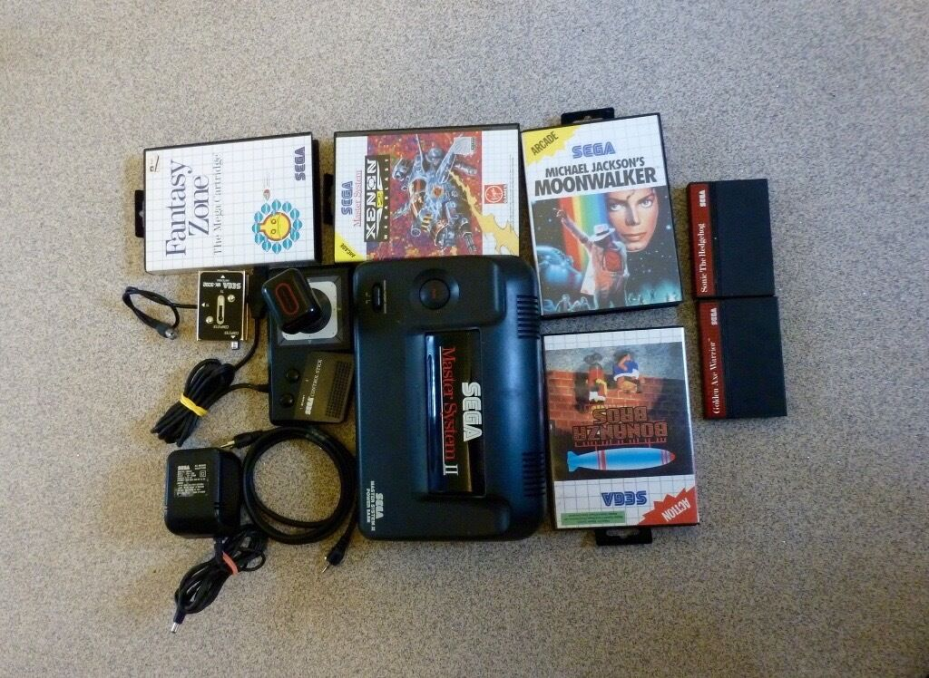 Sega master system ..with games perfect working order