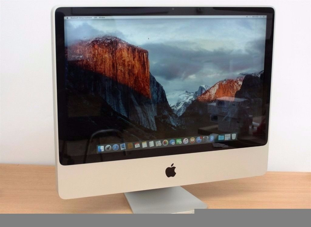 "Apple imac 20 4gb ram 250gb hddin Whitechapel, LondonGumtree - Apple imac intel core2duo osx 10.11.3 20"" screen webcam 4gb ram 250gb hdd Mac office 2016 plus other software keyboard mice Very good Condition inspection welcome no offer Please Please also see my other advert"