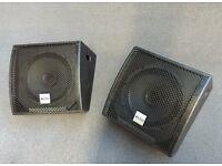 Alto Pro Tourmax SXM112A powered floor monitors (Pair)
