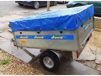 Duuo easy store trailer