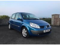 2005 Scenic 1.5 dci Dynamique *** LONG MOT***. Not c-max, picasso, golf plus, zafira