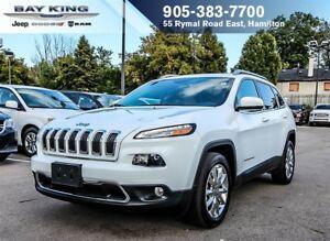 2017 Jeep Cherokee LIMITED, BLUETOOTH, NAVI, BACKUP CAM, 8.4 DIS