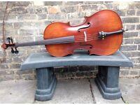 Full size cello for sale, beautiful condition