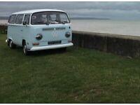 edd581d7a3 1972 VW T2 Bay window Campervan