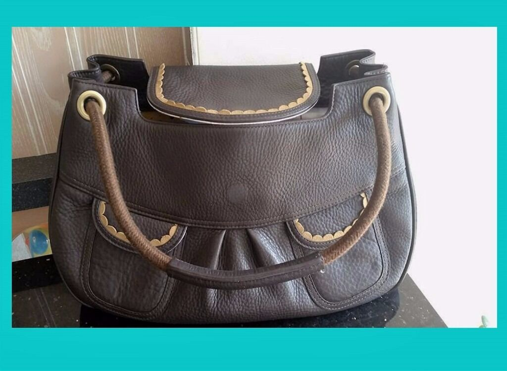 Billy Bag London Leather Handbag