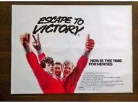 escape to victory ( pele ) ' film poster