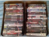 JOB LOT OF 43 DVD's BULK COLLECTION - Incl Seagal Bourne Action War Chick Flicks Adventure