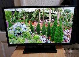 Polaroid 32 Inch LED TV Built In Freeview USB Playback Black