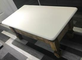 Distressed Oak Coffee Table