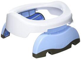 Potette plus 2-in-1 travel potty (white & blue)