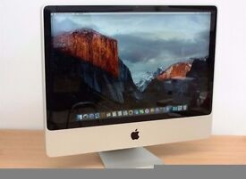 "Apple imac 20"" 4gb ram 250gb hdd"
