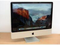 "Apple imac 20"" 4gb ram 250gb hdd"