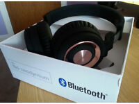 Silver Crest Bluetooth Headphones Pink Color