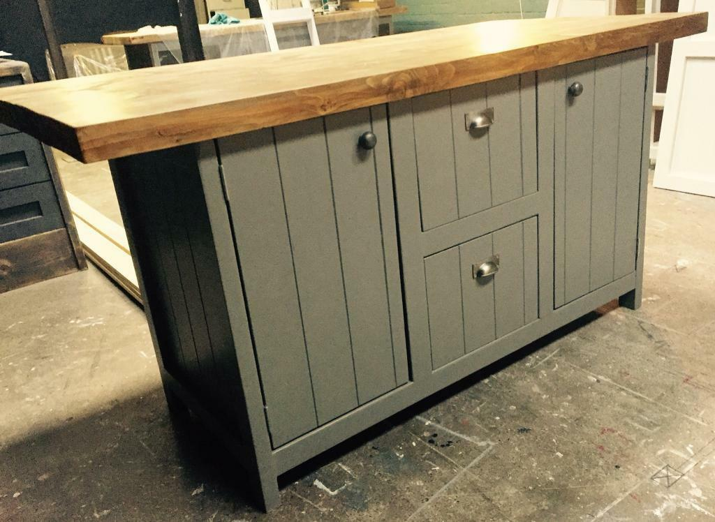 Freestanding Kitchen Island Breakfast Bar Centre Piece