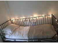 Beautiful Metal Framed Single Daybed with mattress