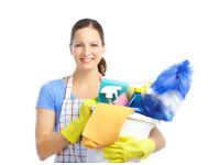 Cleaning job part time Chingford + Buckhurst + Loughton + Epping: domestic cleaner in private houses