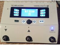 TC Helicon Voicelive Play GTX vocal harmony Pedal and guitar effects processor