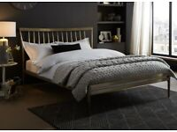 Gold Double Bed Frame