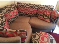 Fama sofa, moon chair and stool