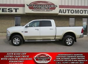 2011 Dodge Ram 2500 LARAMIE CREW 4X4, LEATHER, ROOF, NAV, CAMERA