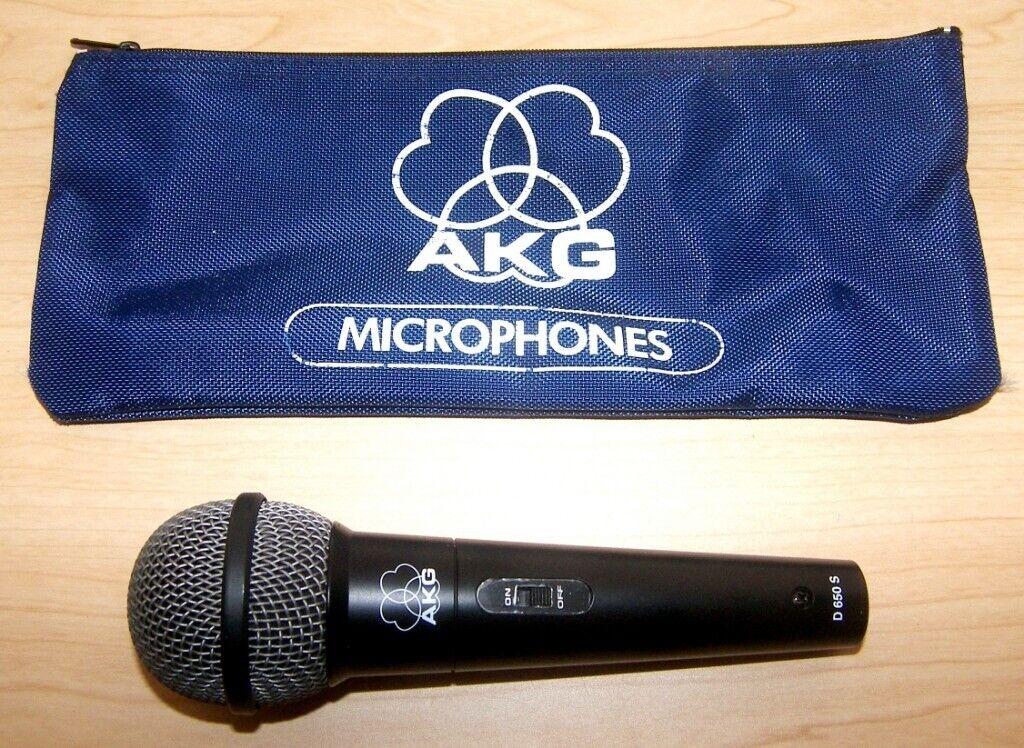 AKG D650 S , D 650 S Microphone , Used  | in Bristol | Gumtree
