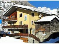 Half term apartment - 1 wk apt in charming ski resort in Valtournenche, Italy. Apartment sleeps 4.