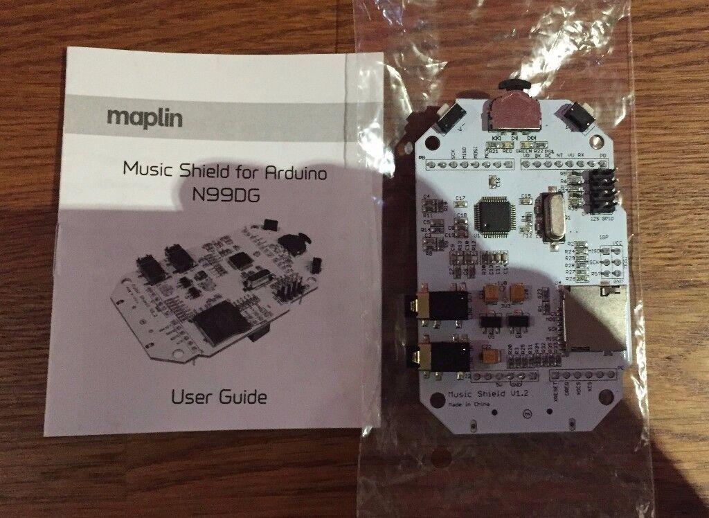 Music Shield for Arduino N99DG