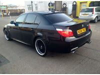 BMW 525 DIESEL . FULLY LOADED. COMPLETE M5 REPLICA.SUPERB DRIVE.THOUSANDS SPENT ON IT.CHEAPEST IN UK