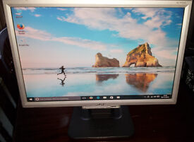 "19"" Acer Widescreen LCD monitor PC / Mac / Laptop"
